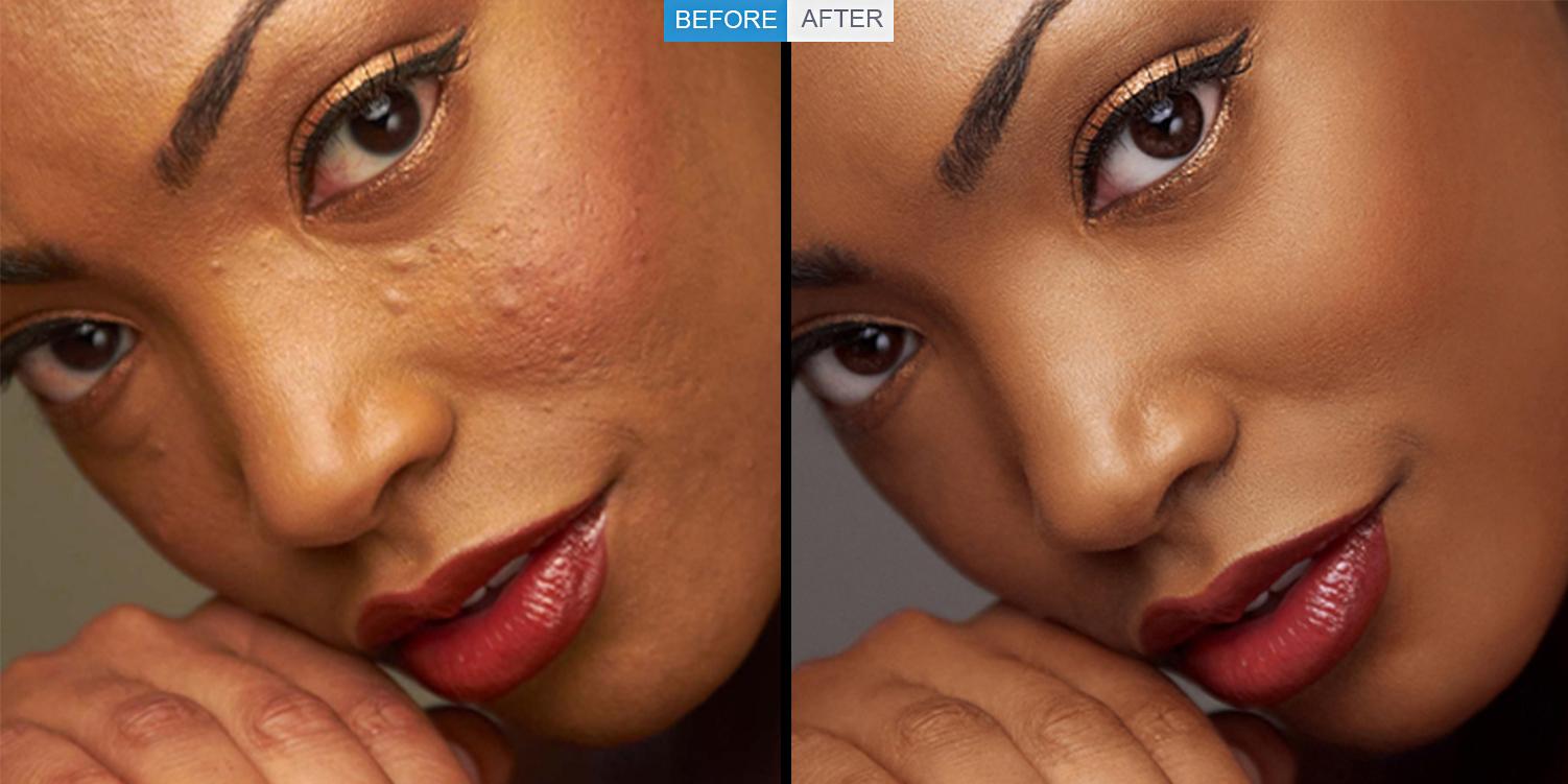 ''Beauty retouching services''