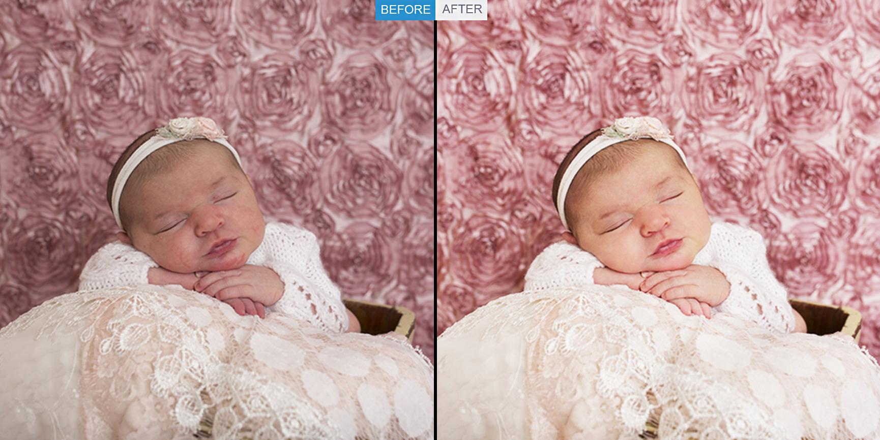 '' Newborn Photo Editing''